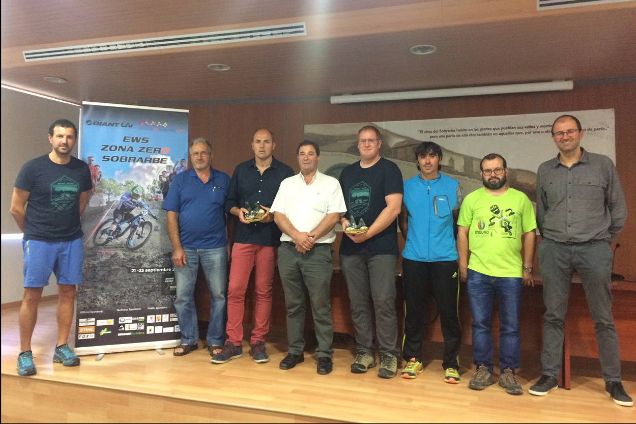 Presentacion de las Enduro World Series en Ainsa Sobrarbe