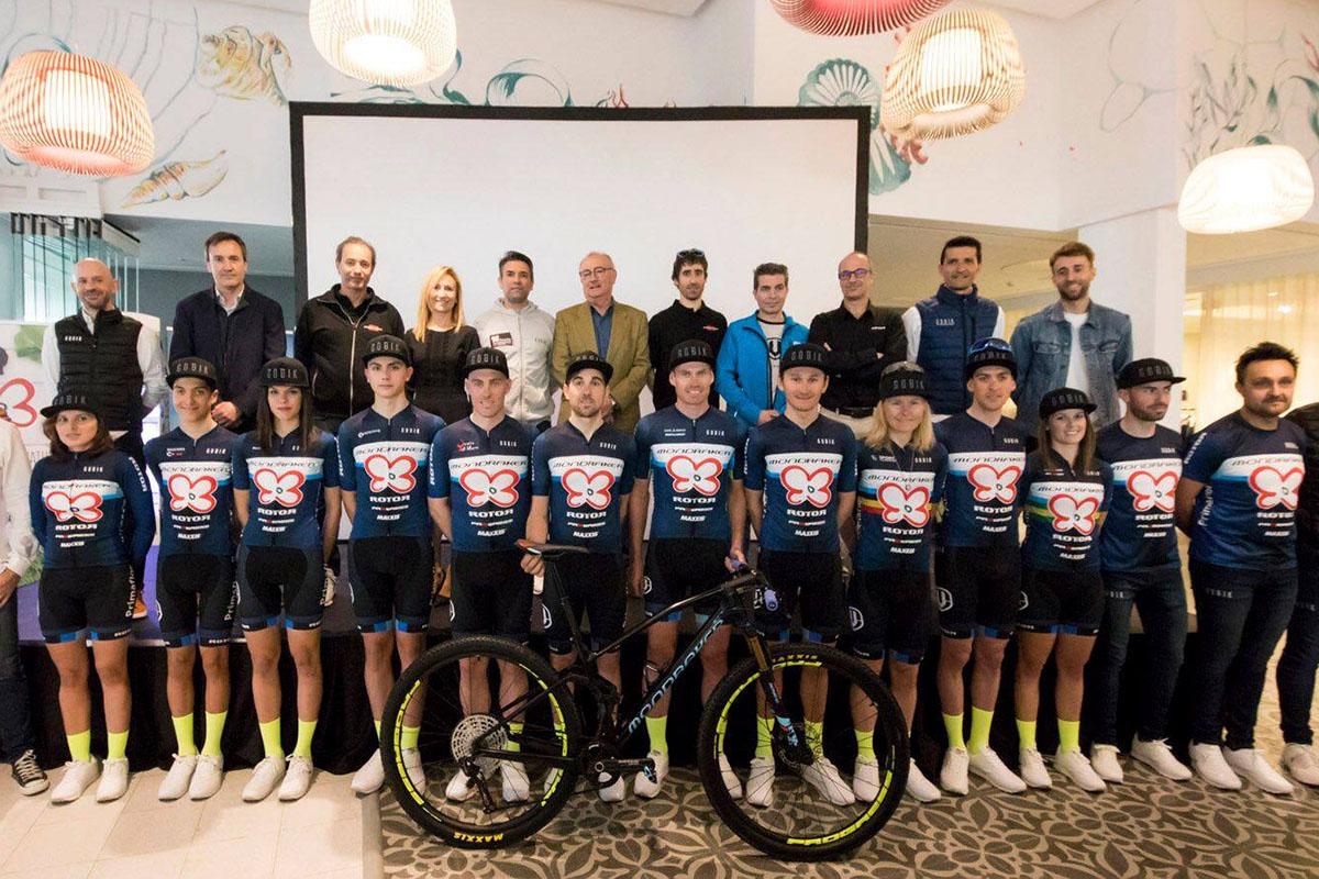 Presentado el proyecto 2019 de Primaflor-Mondraker-ROTOR Racing Team