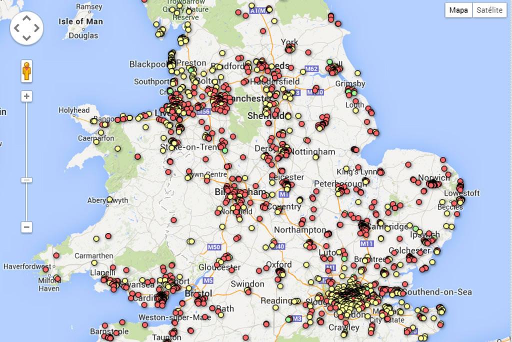 Robo de bicis en Inglaterra