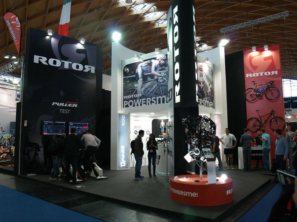 Stand de Rotor en Eurobike