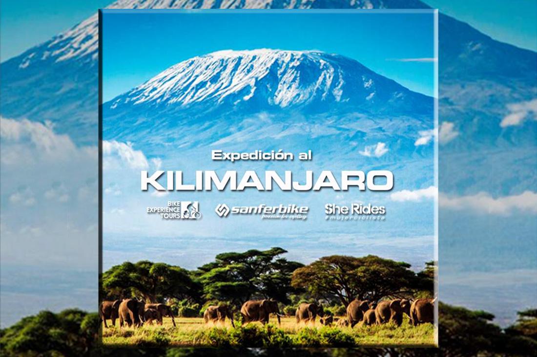 Expedición a la cima del Kilimanjaro en bicicleta