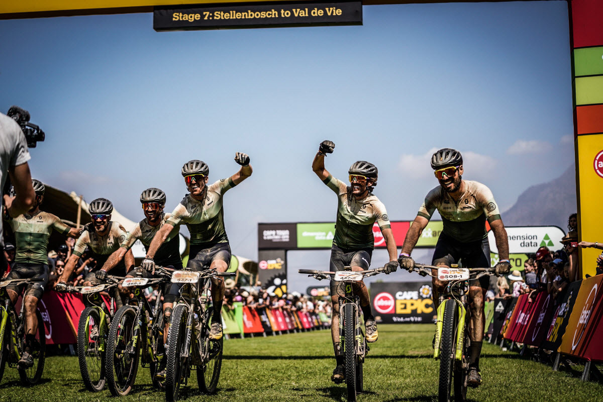 La aventura de SCOTT y ALL1 en la Cape Epic
