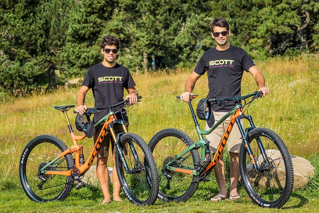 Los 'Jorba Brothers' nuevos embajadores de SCOTT