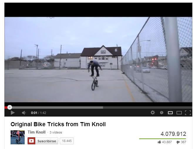 Tim Knoll y sus más de 4 millones de visualizaciones en Youtube