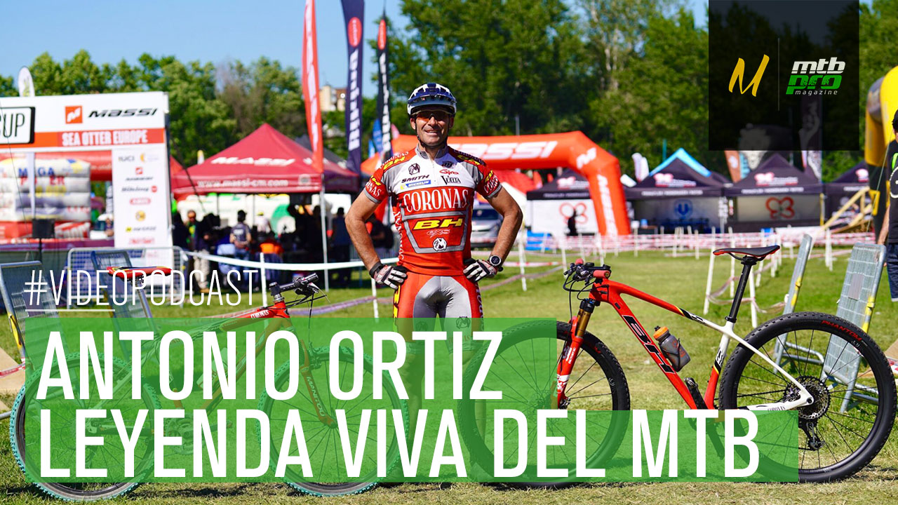 Videopodcast: Antonio Ortiz: Leyenda viva del MTB en España
