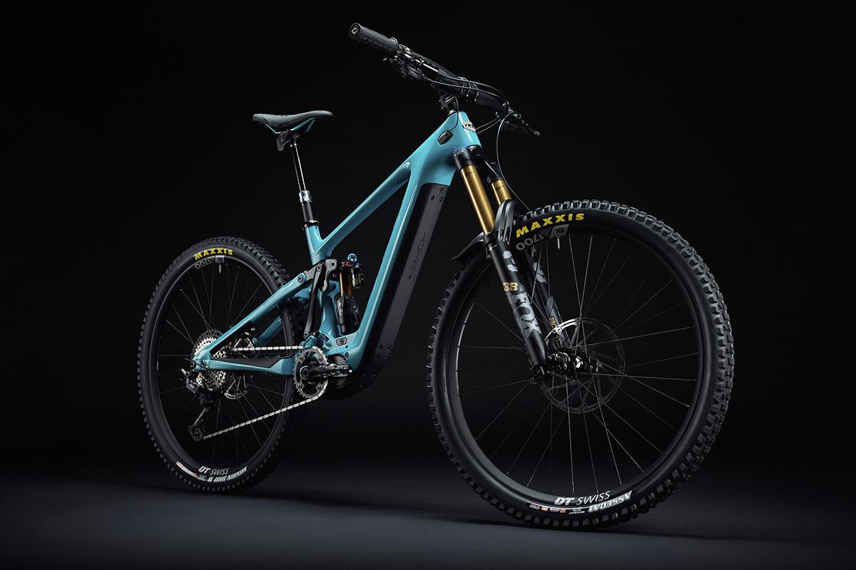 Nueva Yeti 160E, la primera e-bike de Yeti con Shimano EP8 y batería de 630 Wh