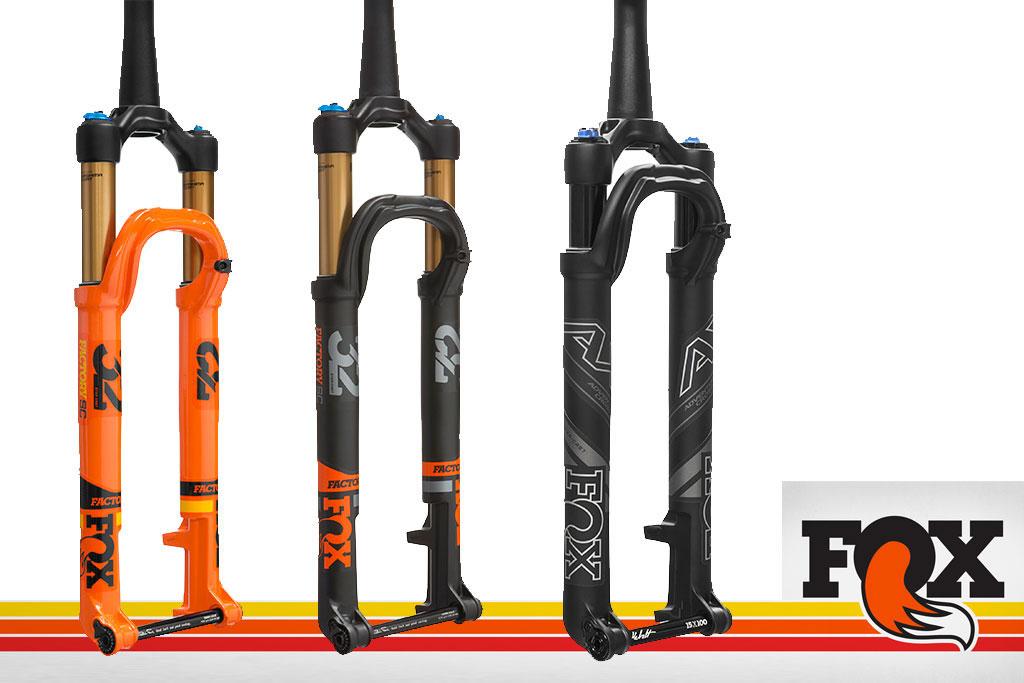 La horquilla de XC más ligera que ha fabricado Fox hasta el momento  mantiene para la temporada 2018 el diseño de chasis Step-Cast (SC). 135f9c2ad49