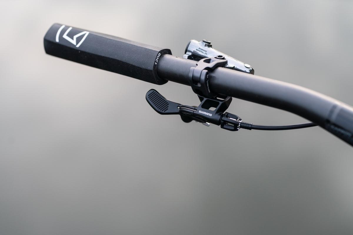 Palanca para tija telescópica Shimano XTR M9100