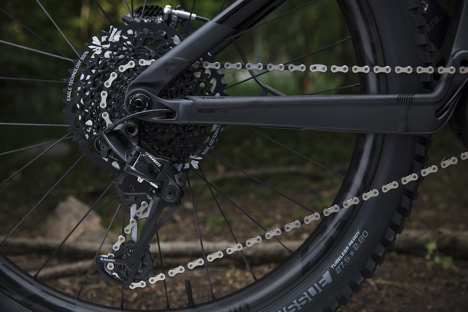 Sistema Eagle de SRAM en ebike Trek Powerfly 2019