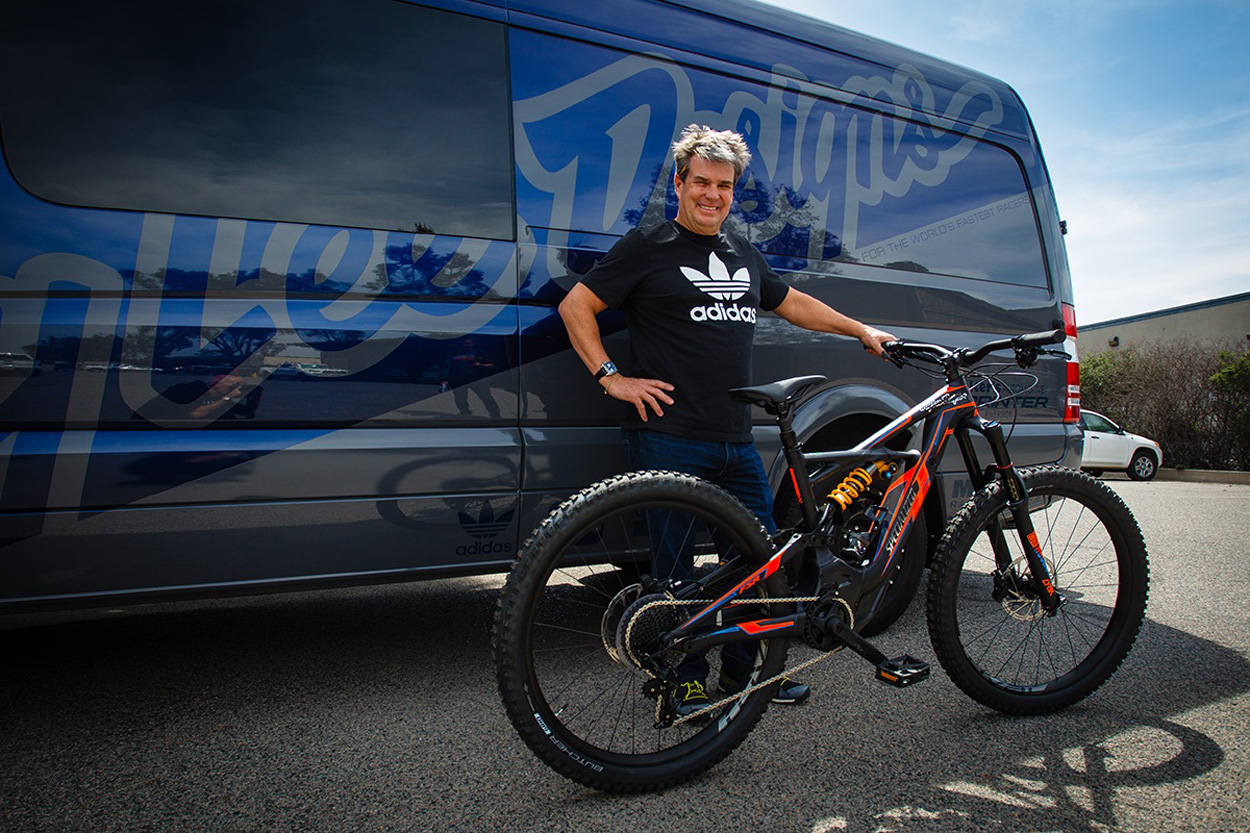 Troy Lee con la Specialized Turbo Kenevo