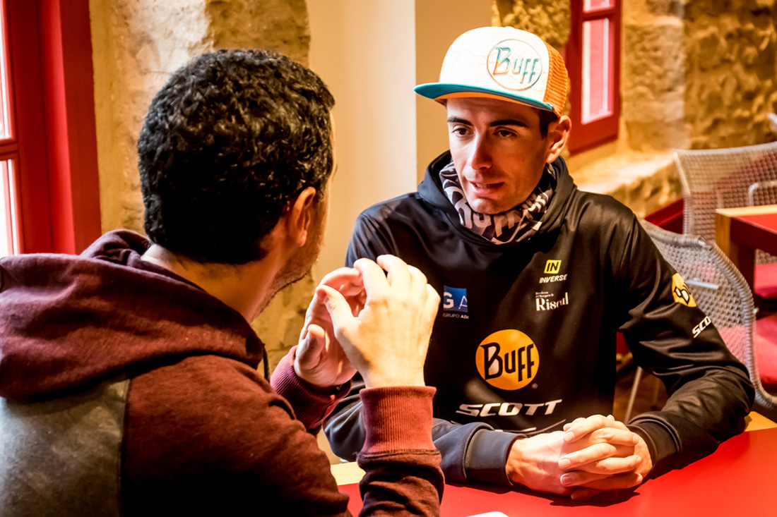 Entrevista a Luis Leao Pinto. Corredor Buff Scott MTB Team