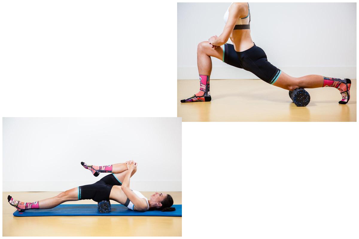 Entrenamiento y masajes con Foam Roller: Psoas