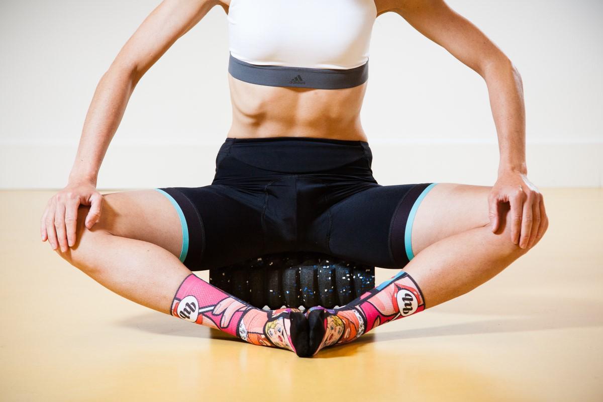 Entrenamiento y masajes con Foam Roller: Aductores