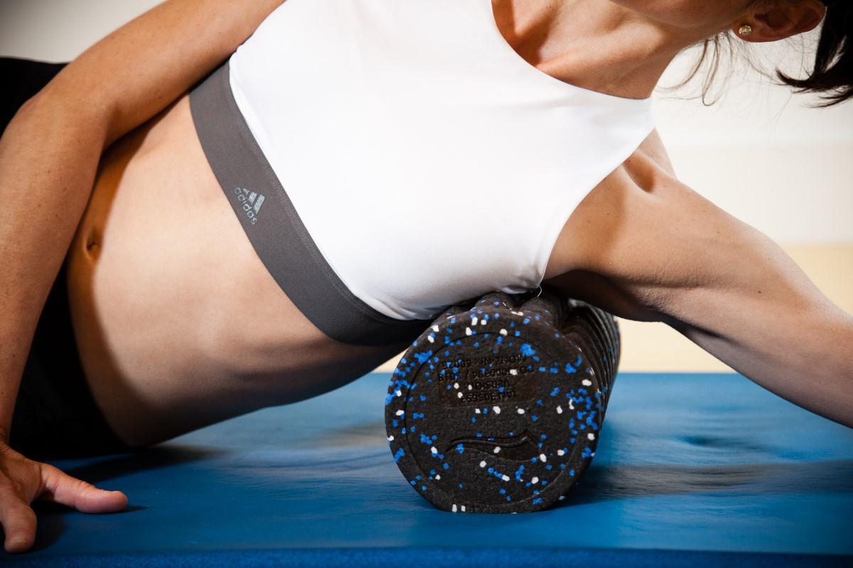 Entrenamiento y masajes con Foam Roller: Dorsal ancho