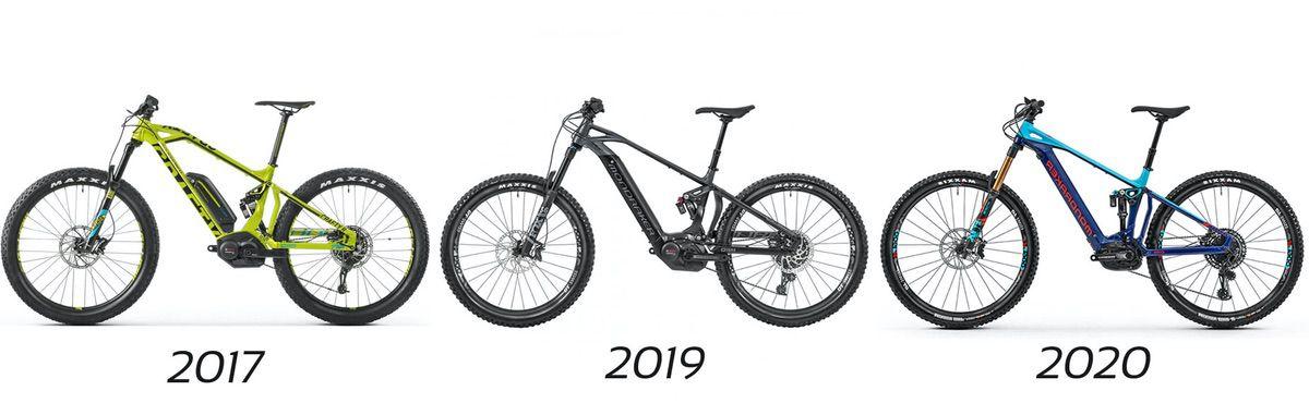 Evolución Mondraker Crafty RR 2020