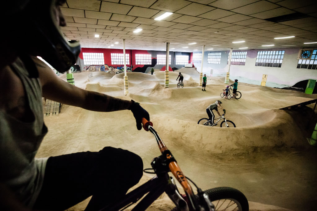 La Jota Indoor: un bike park único