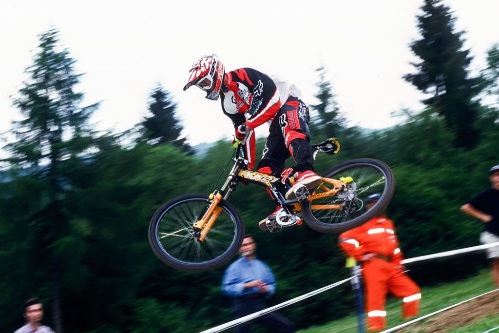 Shaun Palmer con el Specialized-Mt Dew
