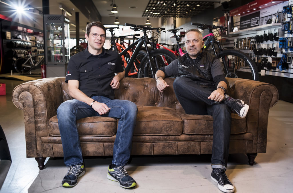 John Riley y Chris Drewes de Trek USA, la evolución del MTB desde dentro