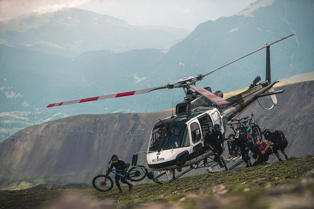 Bike & Friends (y Heli bike) en los Pirineos