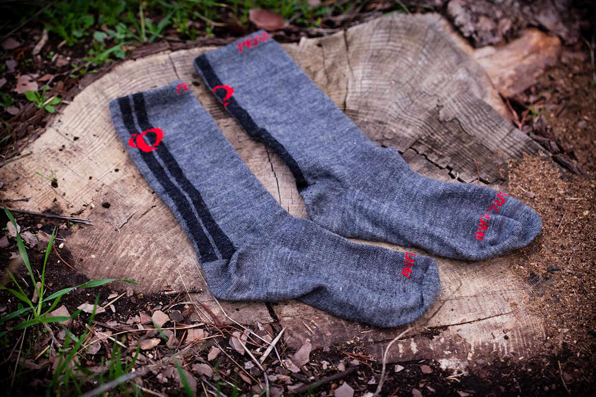 Calcetines de MTB para invierno Pearl Izumi Elite Tall Wool