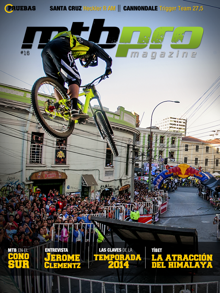 Portada Revista Digital MTBpro nº16