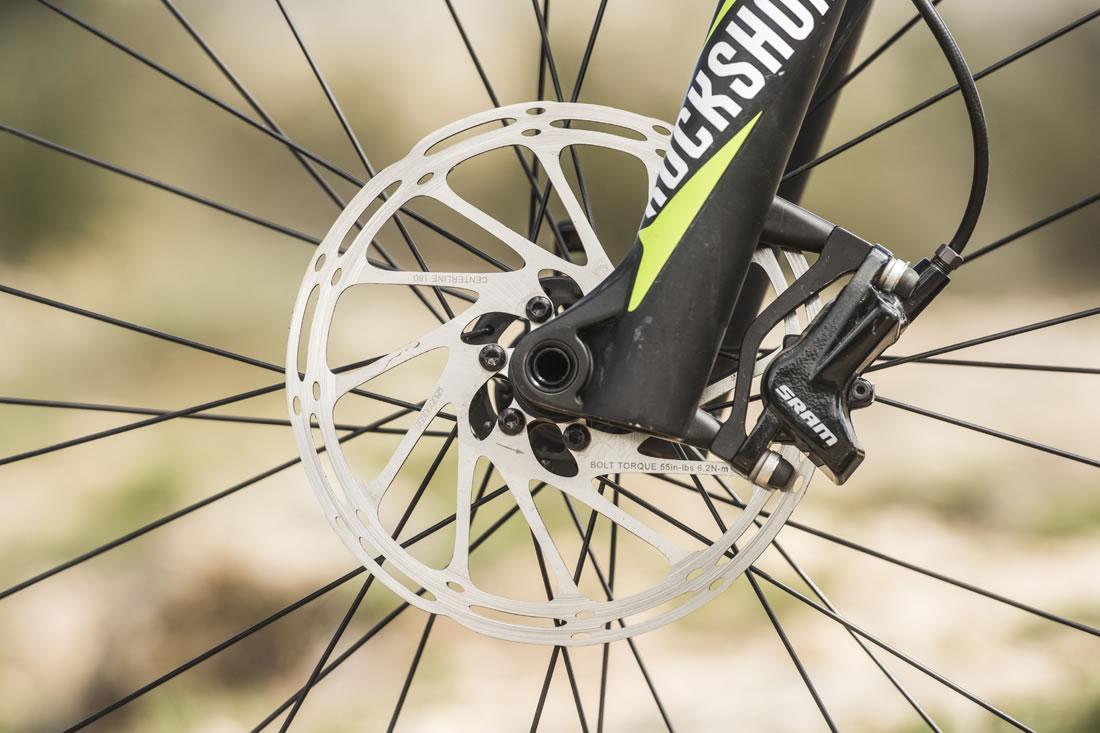 Ruido suspension delantera bicicleta