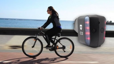 CycloShield, dispositivo de seguridad para ciclistas disponible en KickStarter