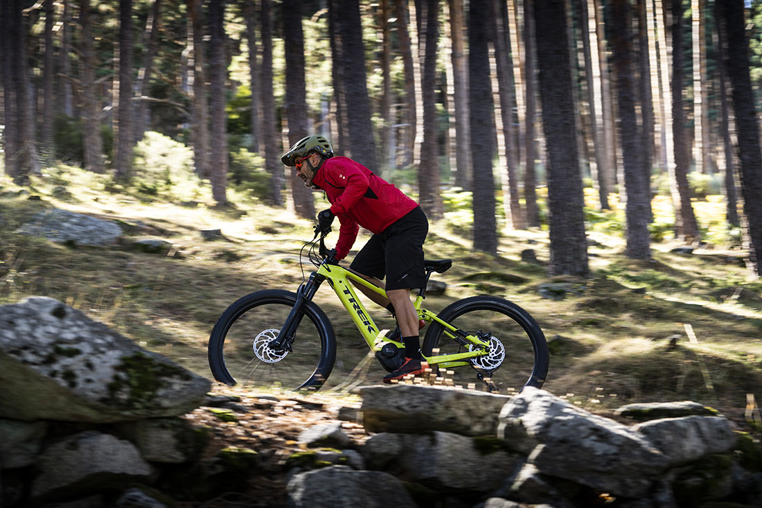 Trek Powerfly LT 9.7 Plus en acción