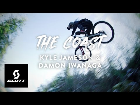 PRIVATE DH Tracks on the Oregon Coast w/ Kyle Jameson and Damon Iwanaga