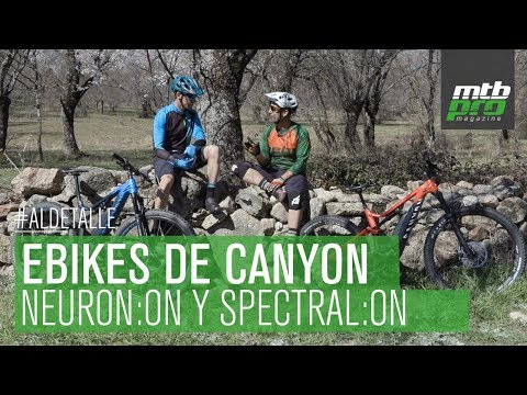 ¡Las e-bikes de Canyon al detalle! Analizamos Canyon Neuron:ON y Canyon Spectral:ON