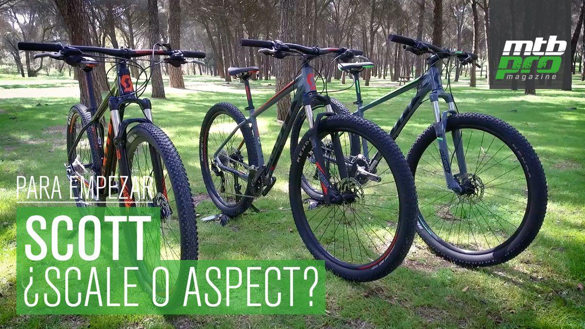 Scott Aspect 940, Scott Aspect 910 y Scott Scale 970