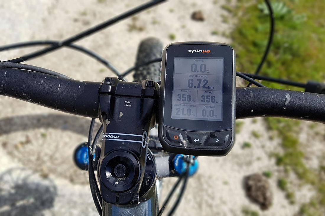 Xplova X3 ciclocomputador GPS